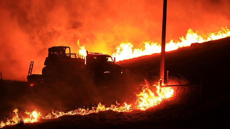 500,000 Californians in the dark, more outages likely as fires rage in Sonoma, San Bernardino counties
