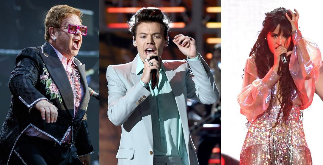 Elton John, Harry Styles and Camila Cabello all coming to Toronto in 2020