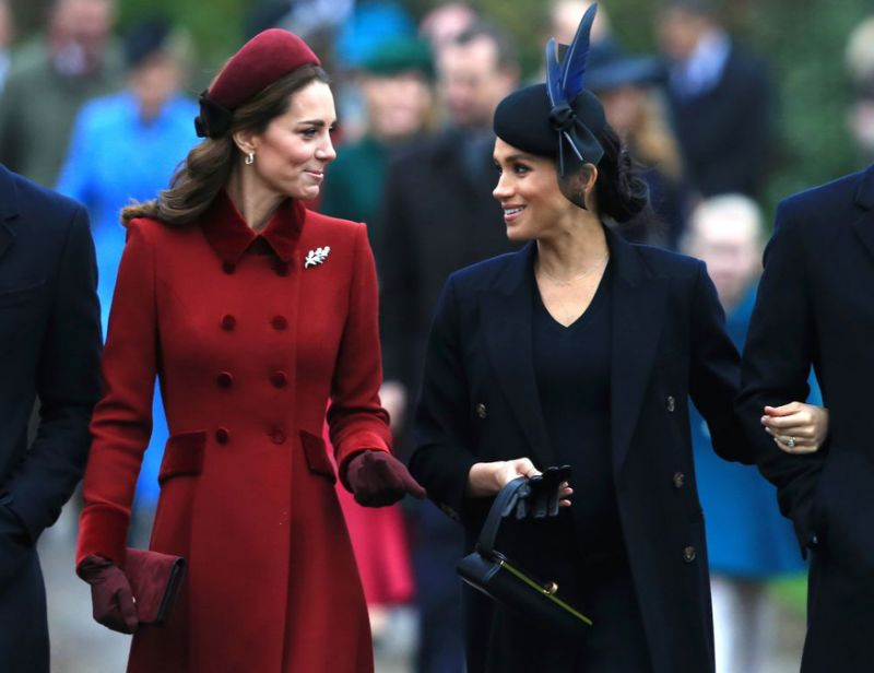Meghan Markle Is Very Aware That Kate Will Be Queen, But They Are Pitted Against Each Other