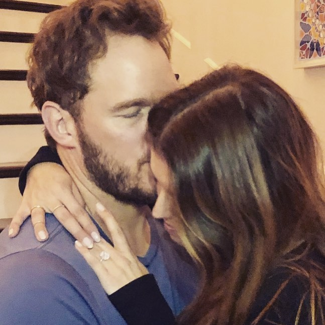 So happy you said yes: Chris Pratt engaged to Katherine Schwarzenegger