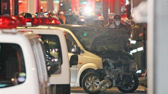 Tokyo car attack: Driver hits New Years revelers in citys Harajuku district