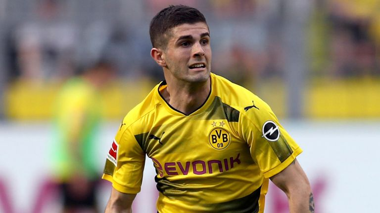 Christian Pulisic joins Chelsea from Borussia Dortmund for £58m