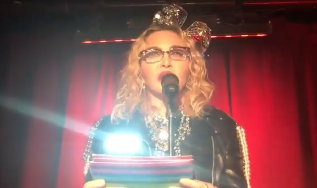 Madonna Delivers Rousing Speech As She Spends New Years Eve At The Historic Stonewall Inn