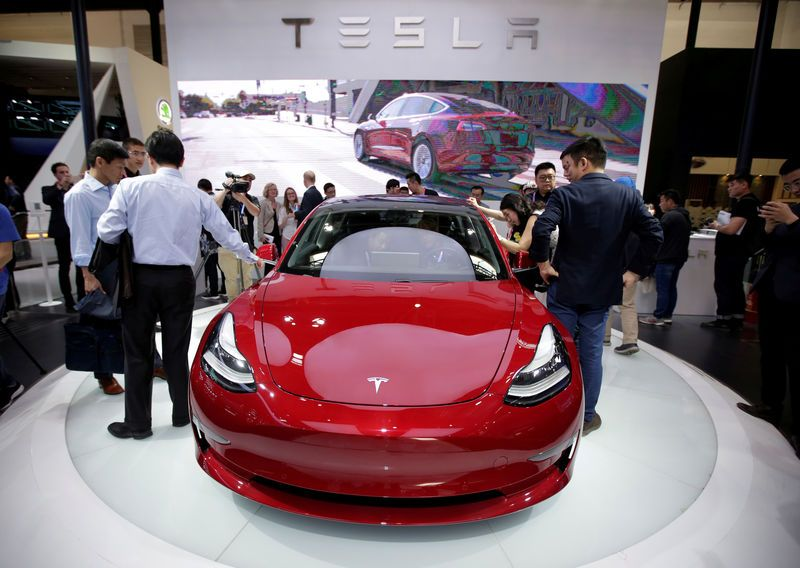 Tesla shares fall on price cut, soft Model 3 deliveries