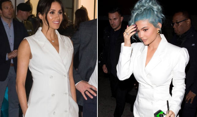 Kylie Jenner channels Meghan Markle on New Years Eve