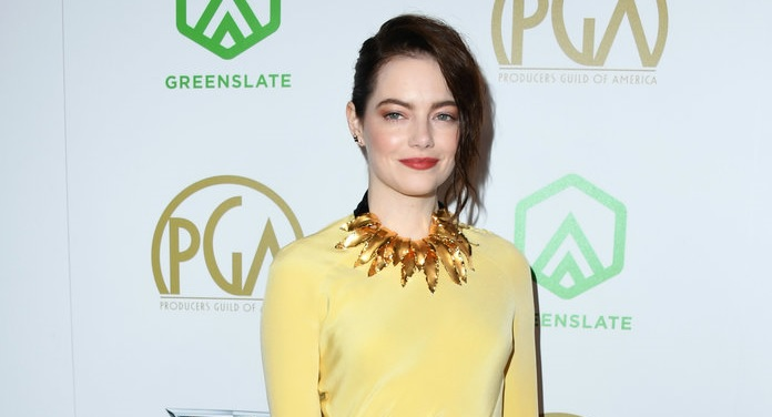 Emma Stone Debuts Drastically Darker Hair at the Producers Guild Awards