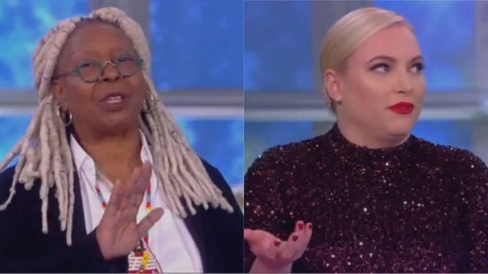 Whoopi Goldberg Tears Into Meghan McCain: 'Girl, Please Stop Talking!'