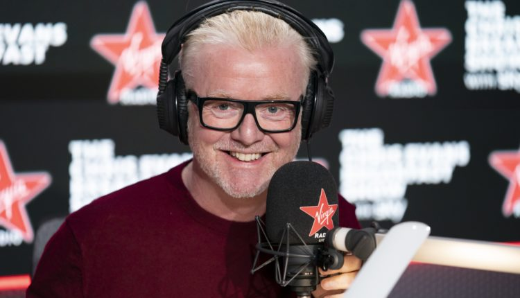 Chris Evans on Virgin Radio – same show, different station