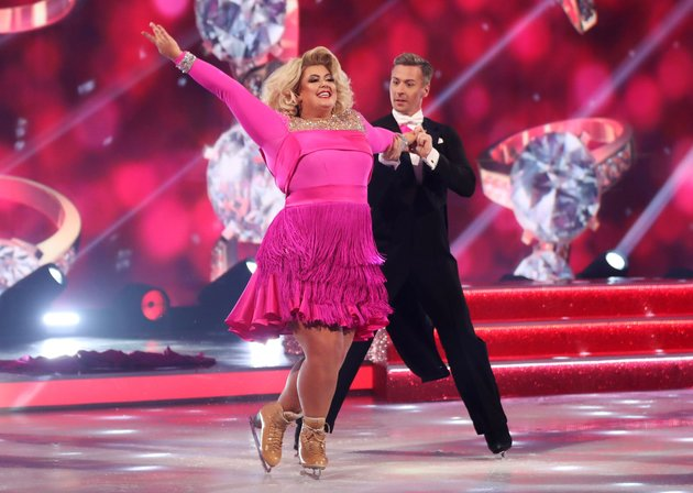 Gemma Collins Furiously Accuses Dancing On Ice Judge Jason Gardiner Of Selling Stories On Her