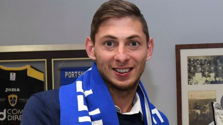 Cardiff City's Emiliano Sala was on missing plane, French authorities say