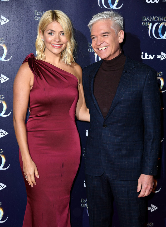 Phillip Schofield Insists He And Holly Willoughby Arent In Trouble Over Gemma Collins Dancing On Ice Comments