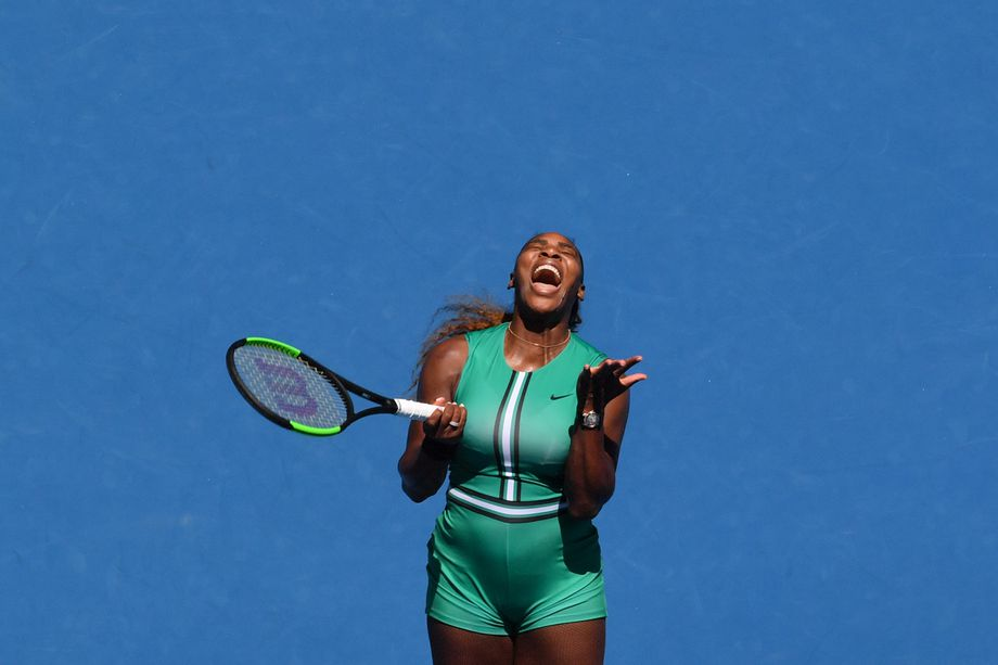 Serena Williams's Australian Open Comes to an Abrupt, Bizarre End
