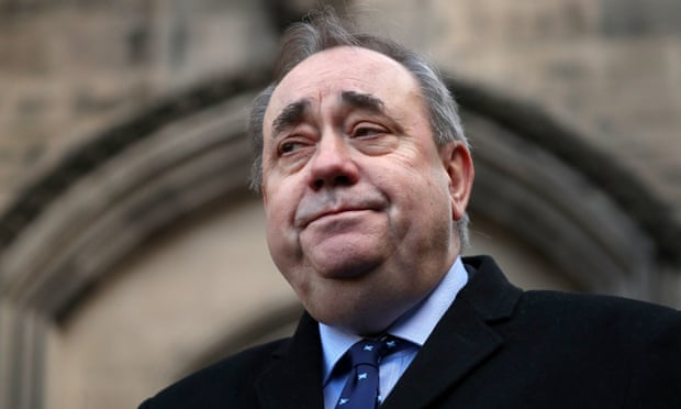 Scotlands former first minister Alex Salmond arrested and charged
