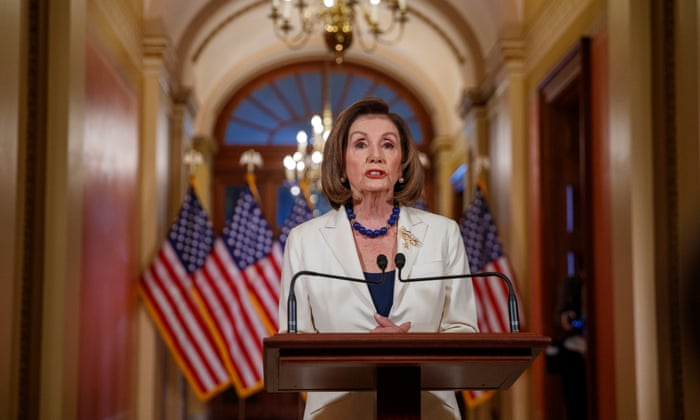 Pelosi asks committee to proceed with articles of impeachment against Trump