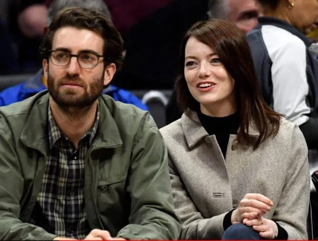 SHINY STONE Emma Stone gets engaged to SNL producer Dave McCary as she shows off huge sparkling ring