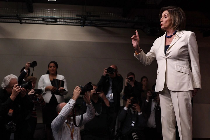 Nancy Pelosi to reporter: Dont mess with me