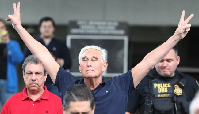 Roger Stone says he wont testify against Trump after Mueller indictment