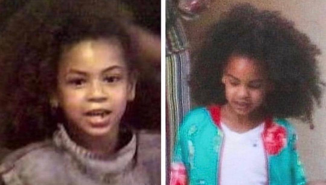 Even Beyoncé Cant Believe How Similar She and Blue Ivy Carter Look