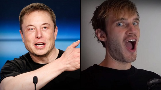 Elon Musk demands PewDiePie to let him host meme review with hilarious Tweet