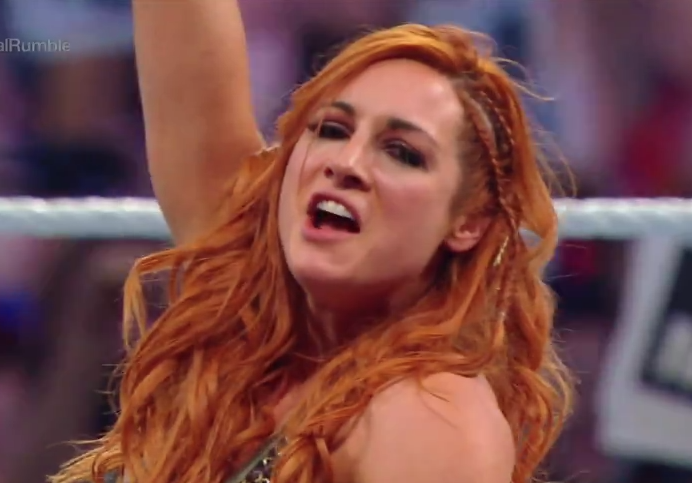WWE Royal Rumble: Becky Lynch WIN sends fans WILD after eliminating Nia Jax and Charlotte