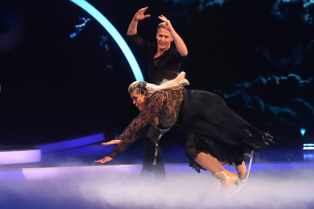 Gemma Collins Left In Tears After Falling Flat On Her Face During Live 'Dancing On Ice' Routine