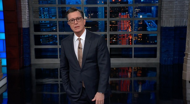"Best of Late Night: Colbert on the Polar Vortex: 'Viral Marketing for ""Game of Thrones"" Has Gone Too Far'"