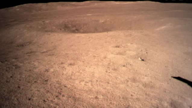 1st PHOTO of moon's 'mysterious' far side taken by Chinese probe