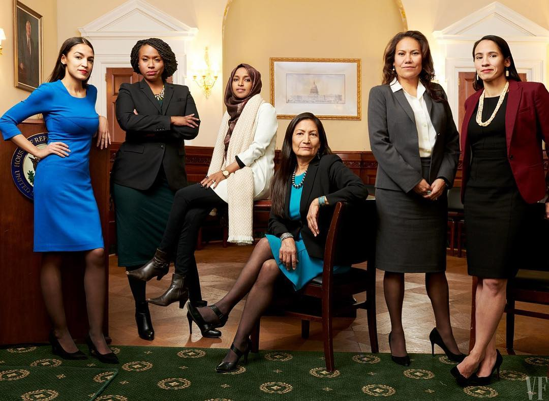 US enters new phase as women change the face of Congress