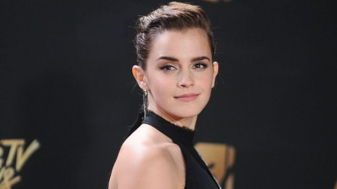 Emma Watson talks of optimism on Times Up anniversary