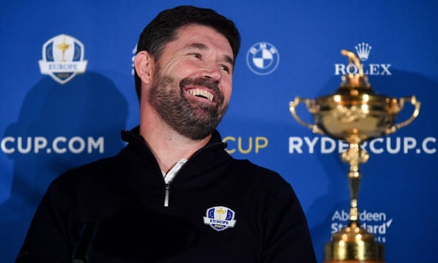 Padraig Harrington feels trepidation at being Europe's 2020 Ryder Cup captain