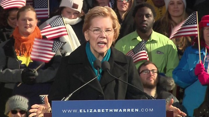 Elizabeth Warren launches White House 2020 bid