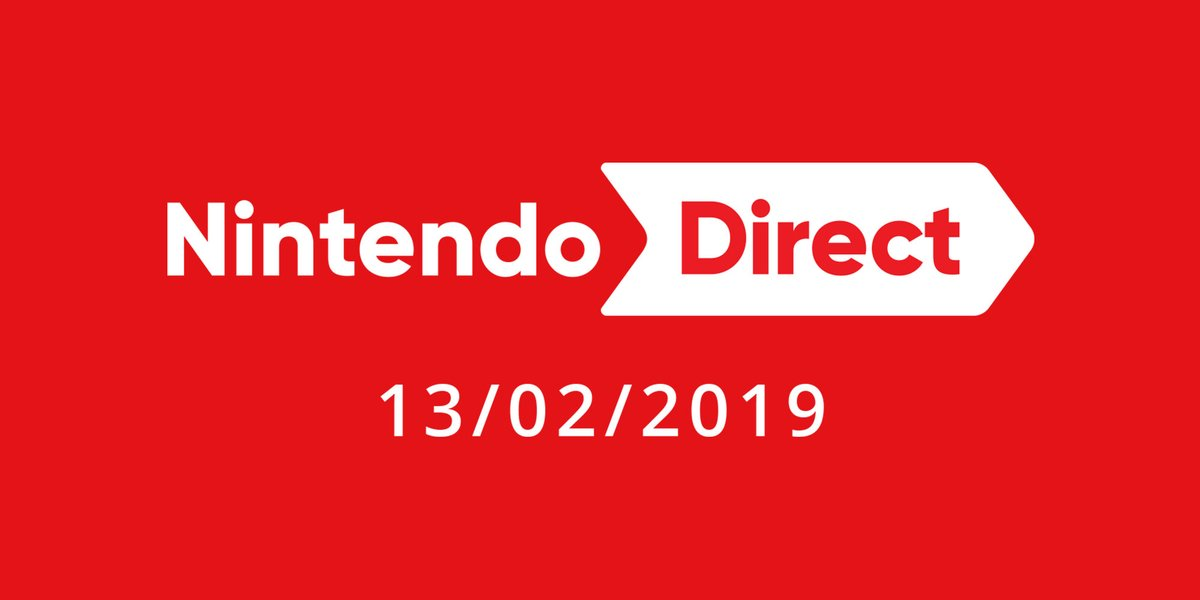 Nintendo Direct To Air Tomorrow, Wednesday 13th February