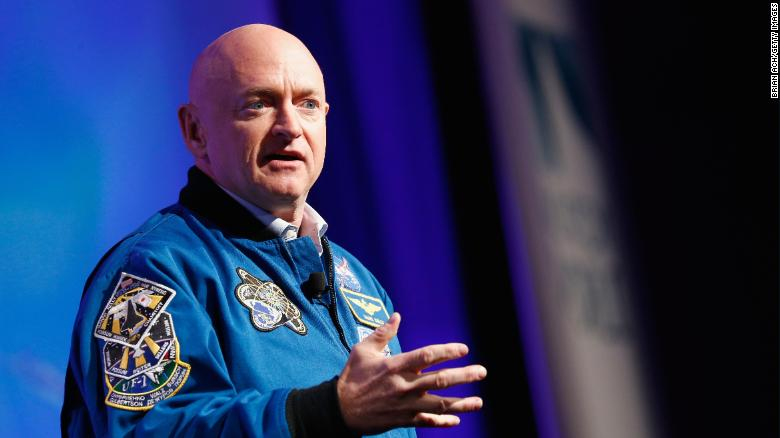NASA astronaut Mark Kelly launches Senate campaign
