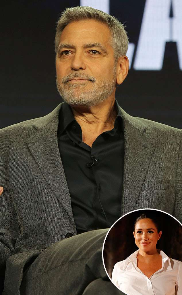 George Clooney Comes to Meghan Markles Defense