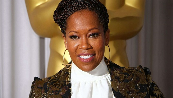 Actress Regina King nearly trampled while courtside during NBA game
