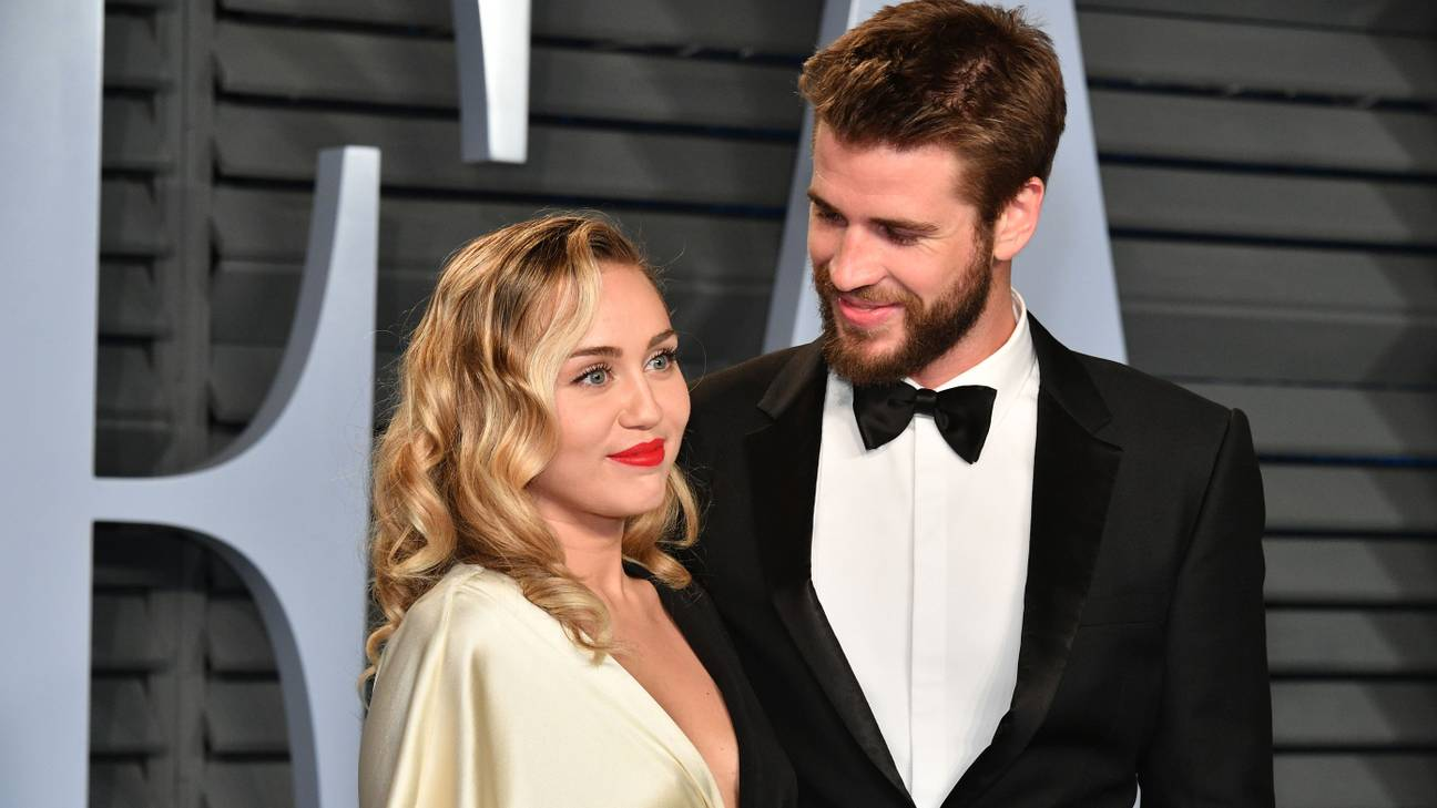 Miley Cyrus Marks Valentines Day With A Series Of Sweet New Wedding Photos