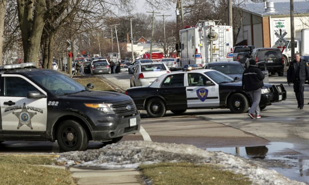 Aurora shooting: sacked employee kills five in Illinois warehouse