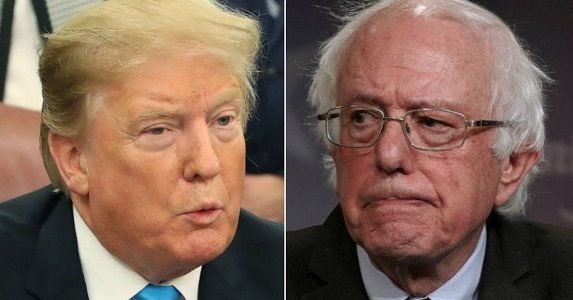 Trump Wishes Crazy Bernie Sanders Well