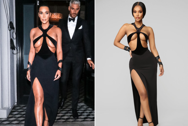 Kim Kardashian slams Fashion Nova over devastating knockoffs