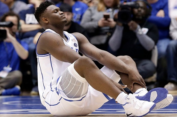 Puma deletes poor-taste tweet about Zion Williamsons Nike shoe mishap