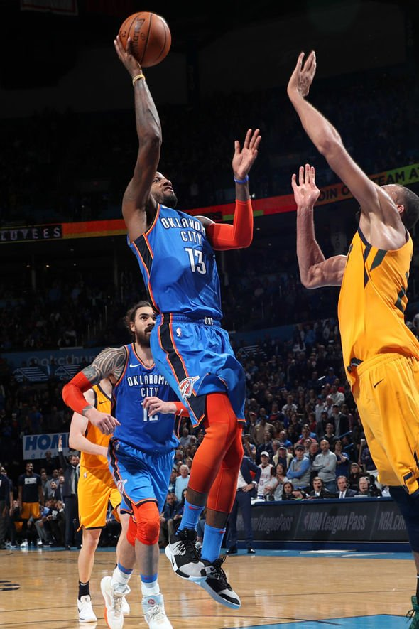 Paul George for MVP: OKC fans go wild after dramatic winner in double OT win over Jazz