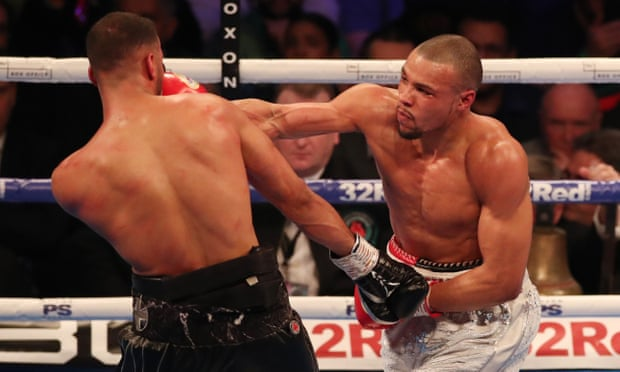Chris Eubank Jr beats James DeGale to send Londoner towards retirement