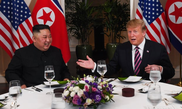 Donald Trump hails 'great leader' Kim Jong-un at Hanoi summit