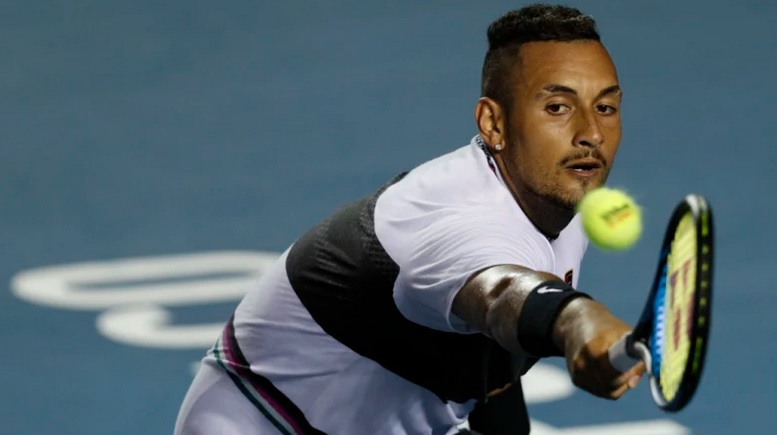 Sensational Kyrgios downs Nadal in Mexico