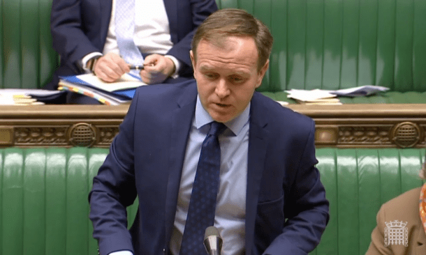 Junior minister George Eustice resigns over article 50 vote