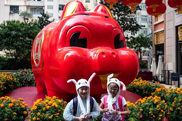 Lunar New Year 2019: Year of the Pig is welcomed across Asia