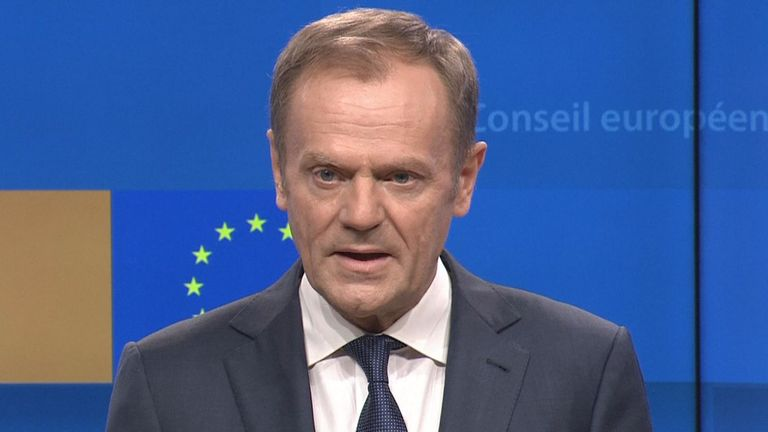 Donald Tusk: special place in hell for those who promoted Brexit without plan