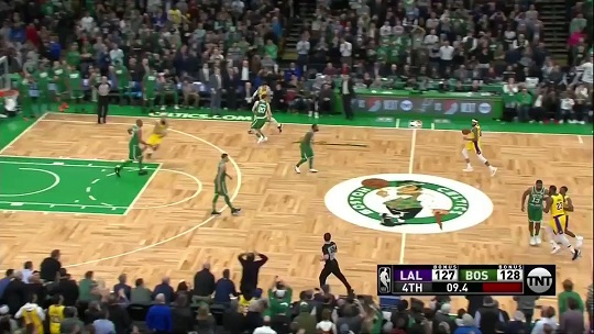 Rajon Rondo delivers the dagger to the Celtics