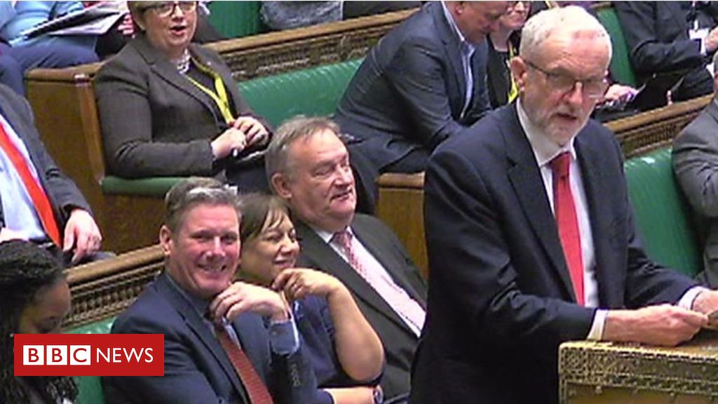 Brexit: Corbyn asks for PMs withdrawal agreement update