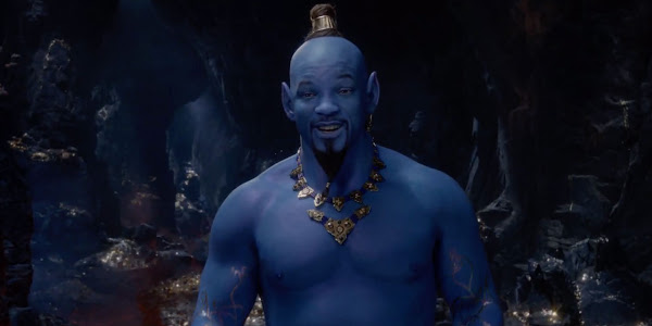 Disneys first full Aladdin trailer drops and Will Smith shines in all his genie glory